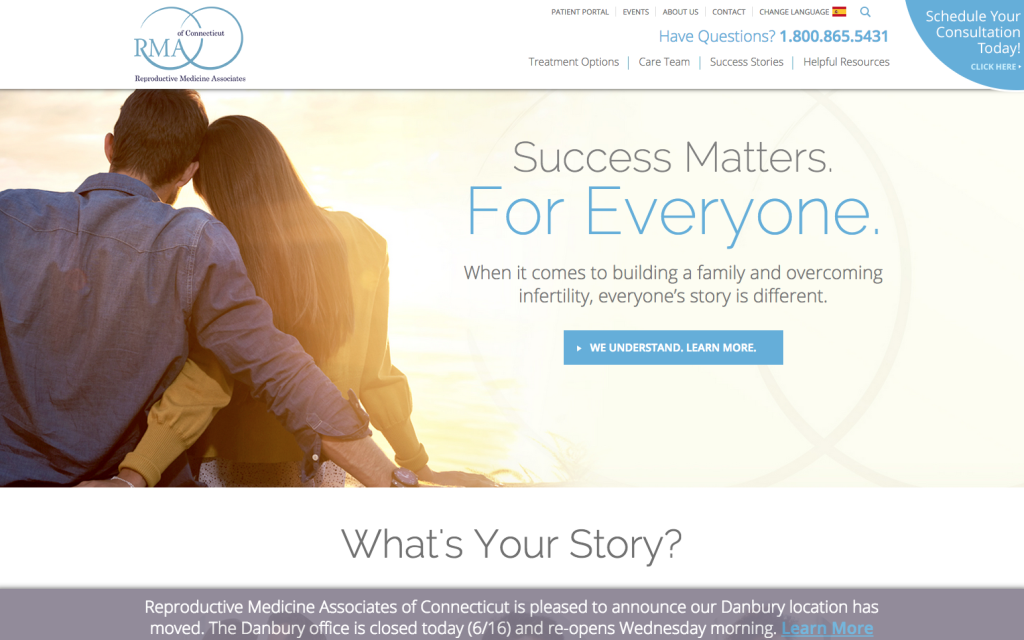 a physician marketing success story rmact